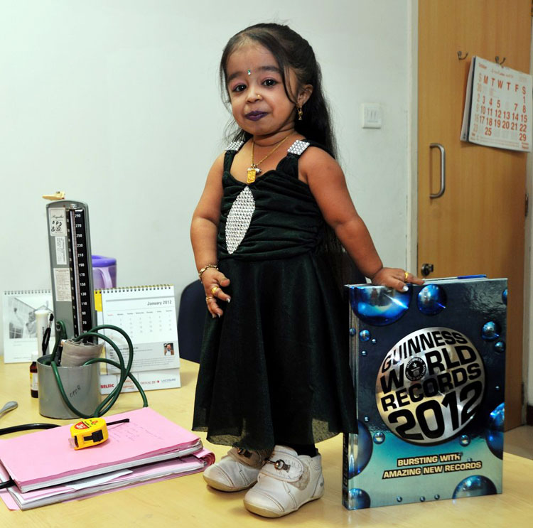 10 Adorable Photos of Jyoti Amge: The Shortest Woman in The World