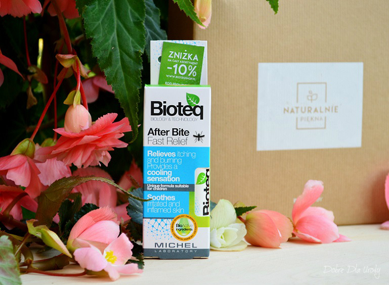 InspiredBy NATURALNIE PIĘKNA - Bioteq Kojący sztyft po ukąszeniach owadów