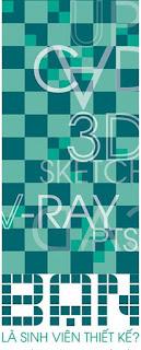 sử dụng phần mềm kiến trúc, học phần mềm đồ họa sketchup autocad, 3dsmax, vray