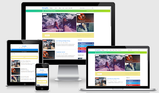 New Simplify 2 Blogger Template free Download