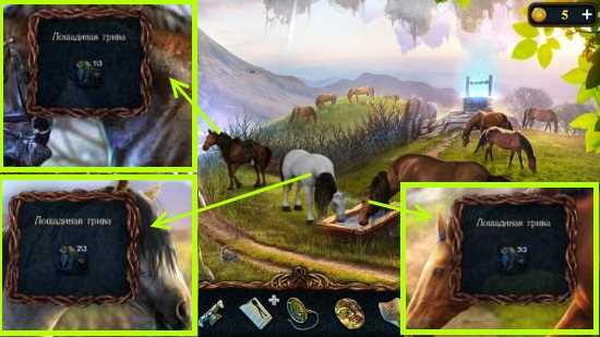 стрижем гриву у лошадей в игре затерянные земли 3 проклятое золото