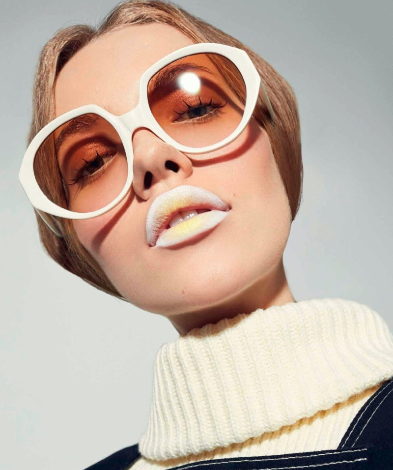 Tanya Kizko takes the spotlight for Harper's Bazaar Mexico's March 2020 issue