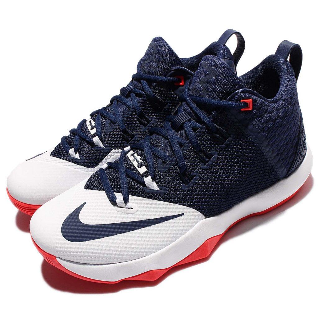 74c6350e54f ... Nike Lebron Ambassador IX Perfect Nike LeBron Ambassador 9 Navy Blue  White Orange James Mens Basketball Shoes .