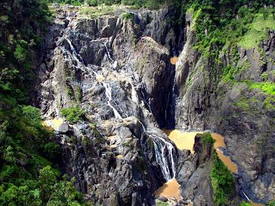 Barron Falls seca