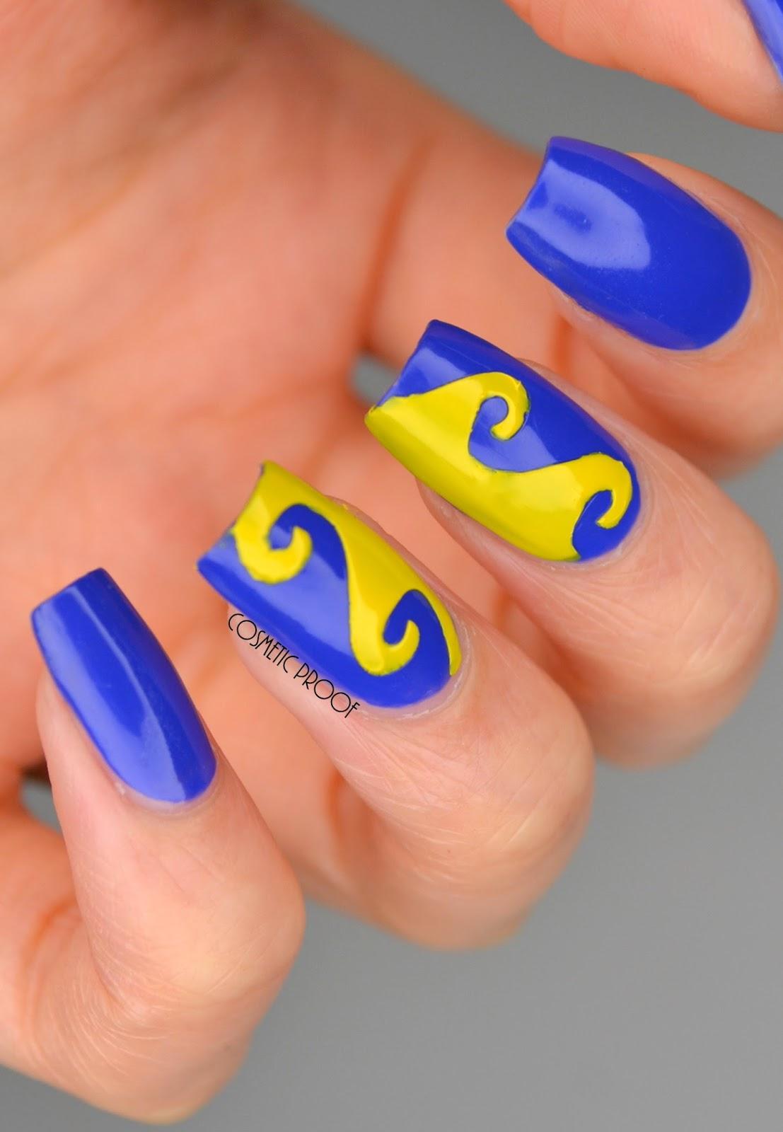 Banana Yellow Nail Polish Creative Touch