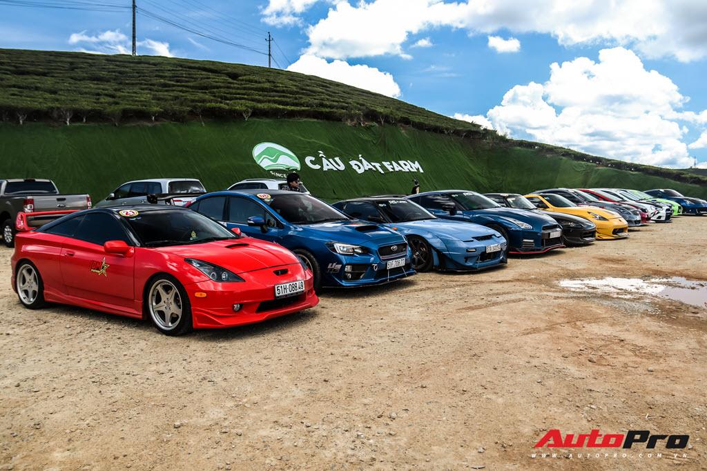 Dàn xe thể thao Nhật Bản náo động Đà Lạt, có chiếc còn hiếm hơn cả siêu xe ở Việt Nam