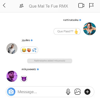 "Natti Natasha Ft. Justin Quiles y Miky Woodz Que Mal Te Fue Remix - Justin Quiles y Miky Woodz le responden a Natti Natasha en ""Que Mal Te Fue (Remix)"""