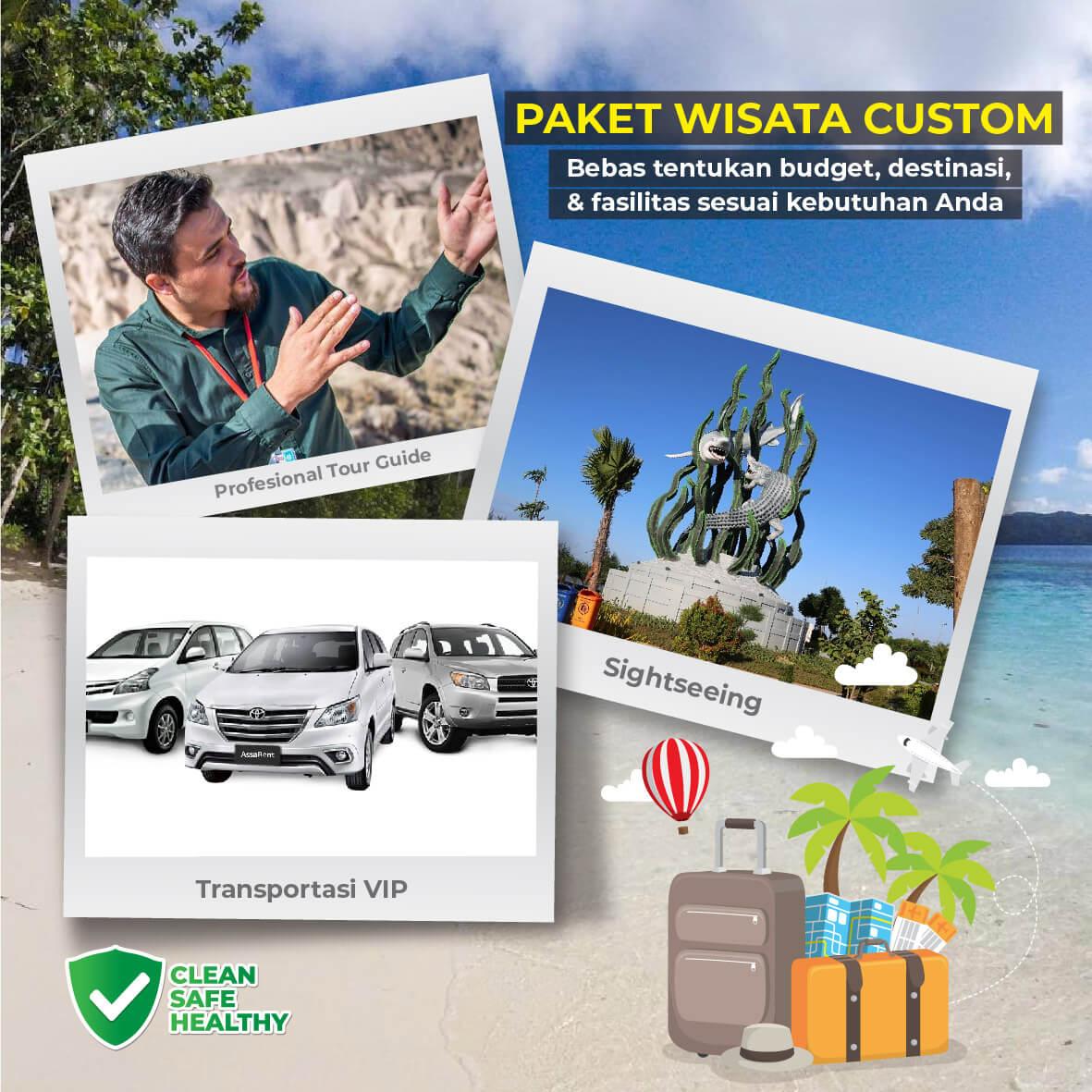 paket tour travel surabaya bali