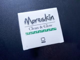 Moreskin Clean & Glow Nasa 20gr Original BPOM