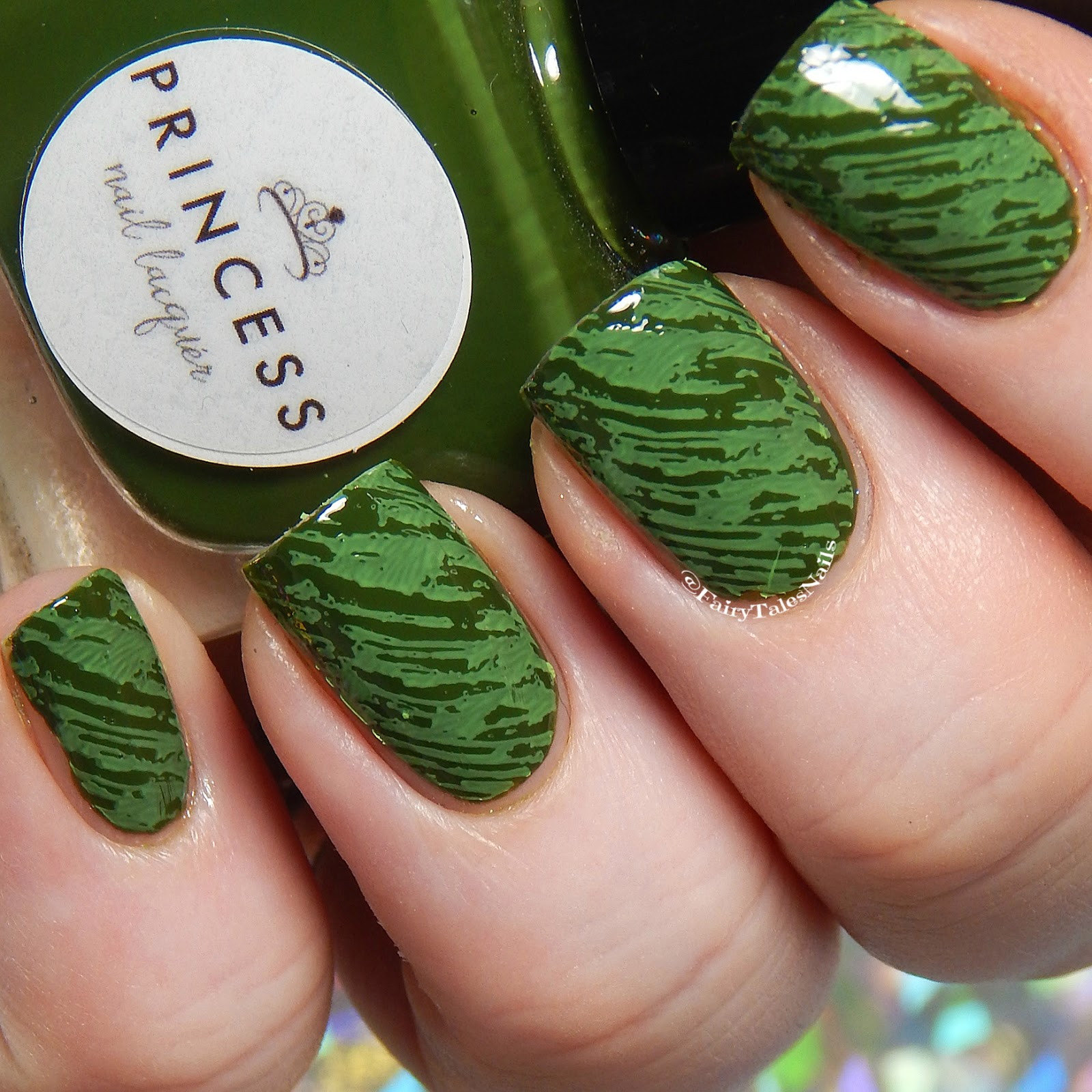 FairyTales Nails: 26 Great Nail Art Idea\'s- Green Freestyle