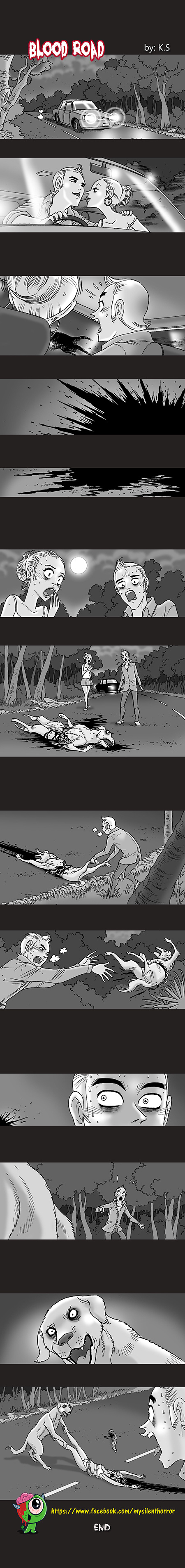 Silent Horror chap 20: Con đường máu