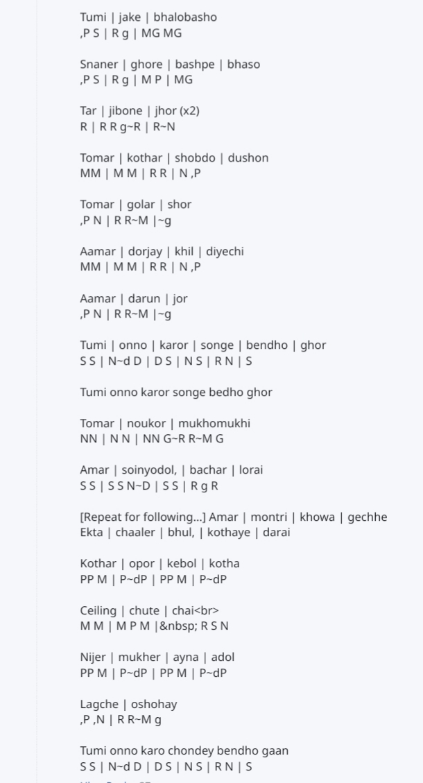 Tumi-Jake-Bhalobasho-harmuniyam-note