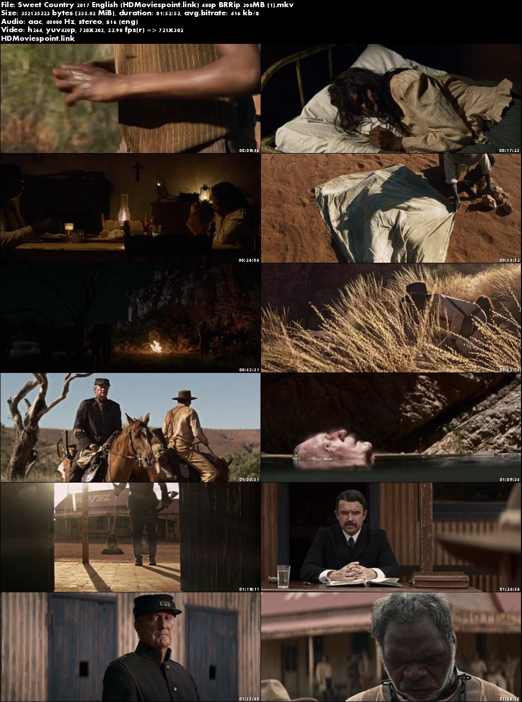 poster Sweet Country 2017 Download Full Movie English Free 300Mb