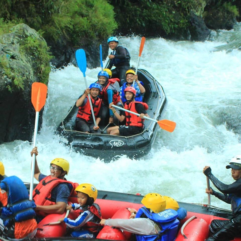 Arung Jeram Randudongkal Pemalang Rafting
