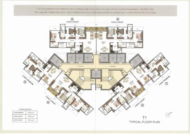 Shapoorji Pallonji Sienna Floor Plan