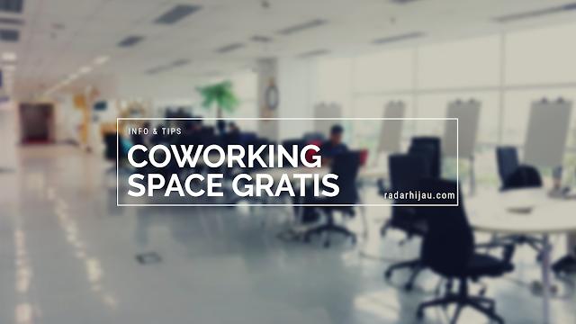 Tempat Nugas (Co Working) di Kota Bandung GRATIS!
