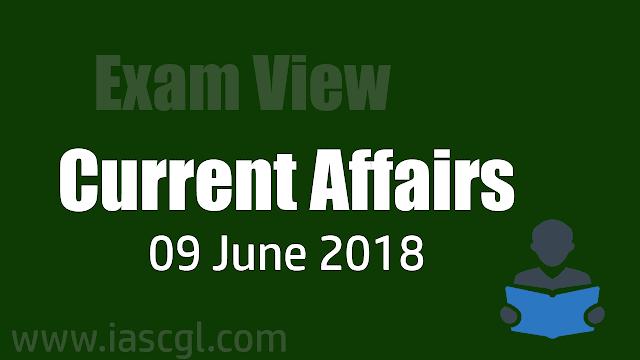 Current Affair 09 June 2018
