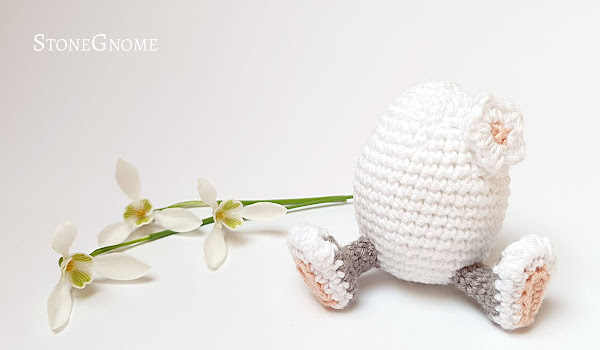 Crochet Easter Bunny Egg
