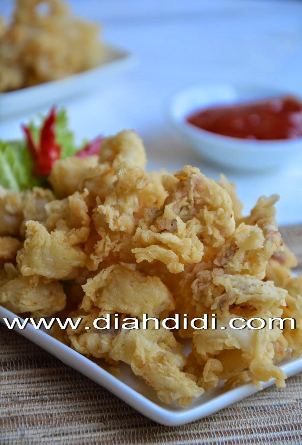 Diah Didi S Kitchen Cumi Goreng Krispi Super Kriukkkk