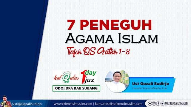 Tadabur Surat Fathir 1-8 | Download Powerpoint