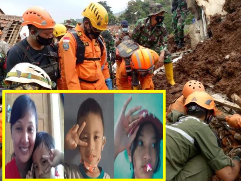 Korban Bencana Longsor Cimanggung