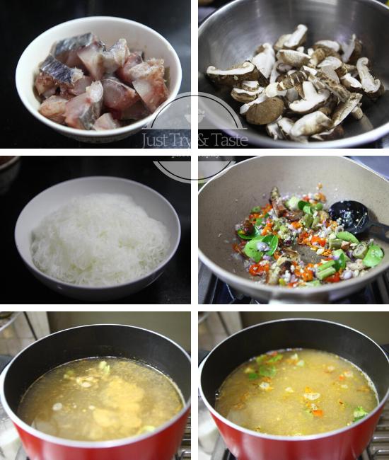 Resep Bihun dengan Sup Ikan Tom Yum JTT