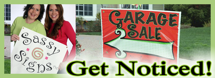 Sassy Garage Sale Signs