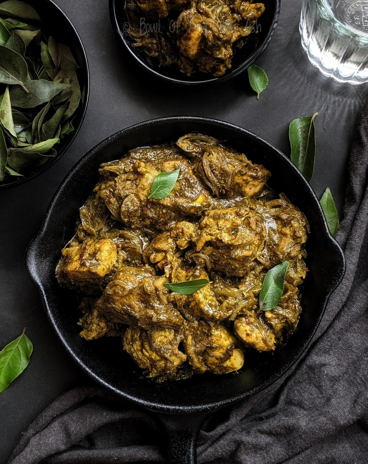 Curry Leaves Chicken Recipe | How To Make Curry Leaf  / Karibevu Chicken