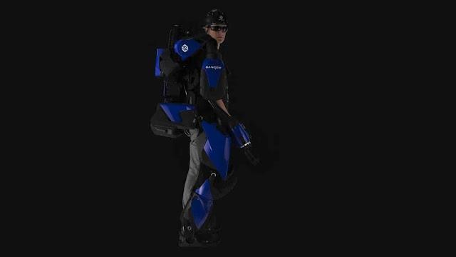 Marinha dos EUA recebe exoesqueletos para testes de super força