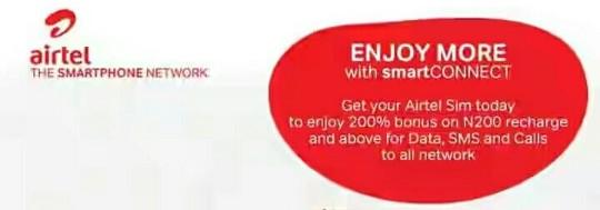 Airtel SmartConnect Tariff Plan Code