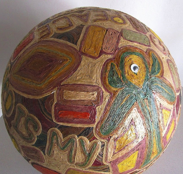 Dull Tool Dim Bulb African-american Folk Art Sculpture Lucy Robinson Of Baltimore 1921-2012
