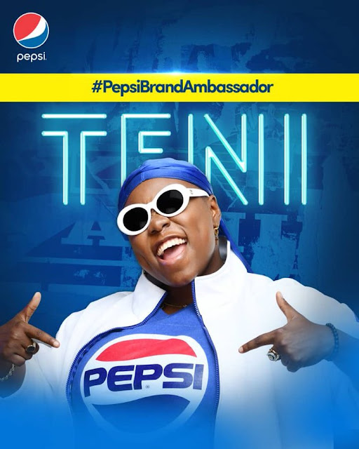 #burnaboy and #TeniEntertainer becomes #PepsiBrandAmbassador