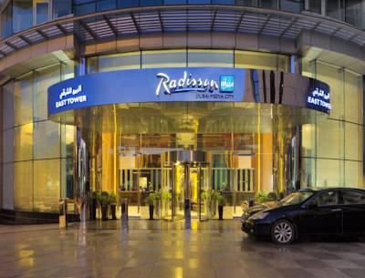 فندق راديسون بلو, مدينة دبي للإعلام