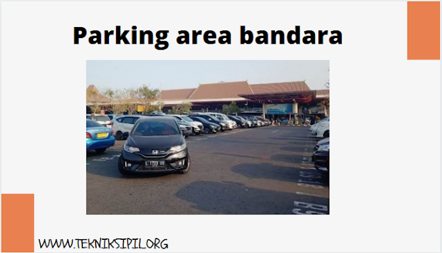 Parking area bandara