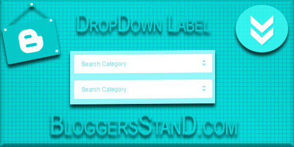 How To Add CSS Drop Down Function On Labels In Blogger