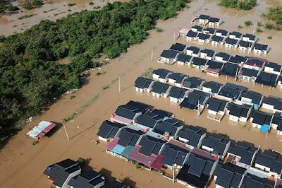 1.108 Rumah Terdampak Banjir di 11 Wilayah Pekanbaru