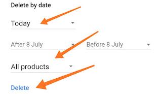 गूगल हिस्ट्री डिलीट कैसे करे 2019 | google search history delete कैसे करें