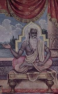 Maharshi Vyasa.  Credit: Ramanarayanadatta astri Publisher: Gorakhpur Geeta Press