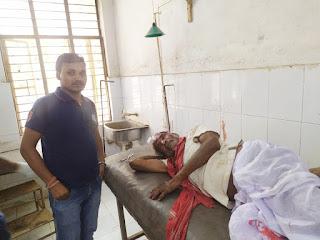 journalist-help-injured-citizen-madhubani
