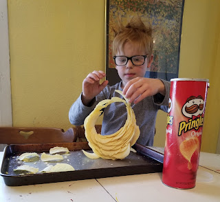 food allergies, mastocytosis, and a Pringle STEM challenge via refabulous