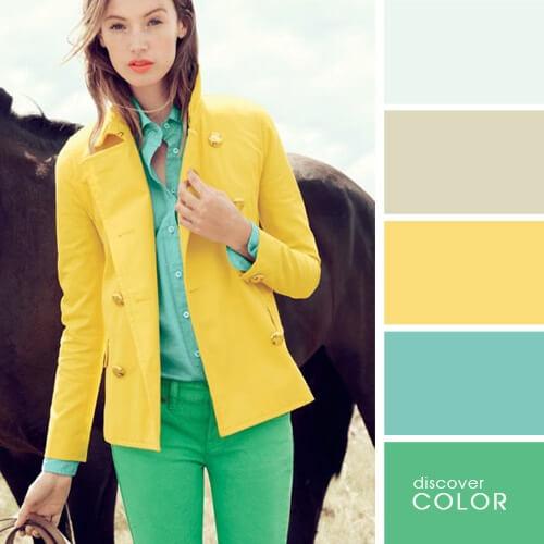 أفكار هتساعدك لتناسق الألوان فى الملابس