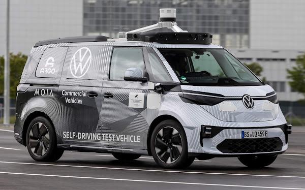 Volkswagen ID.Buzz: Kombi elétrica inicia testes de direção autônoma