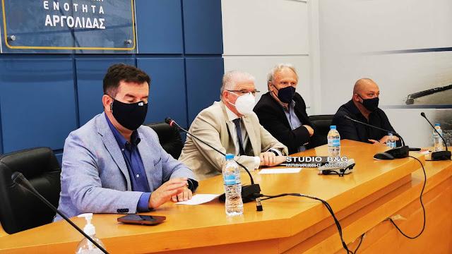Σύσκεψη του Πρόεδρου του ΕΛΓΑ Ανδρέα Λυκουρέντζου με φορείς στην Αργολίδα  (βίντεο)