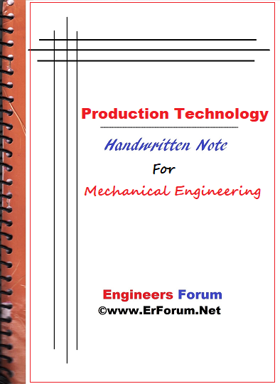 production-technology-notes