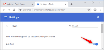 Flash Player should be enabled