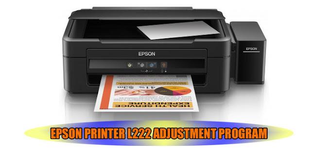 EPSON L222 PRINTER ADJUSTMENT PROGRAM
