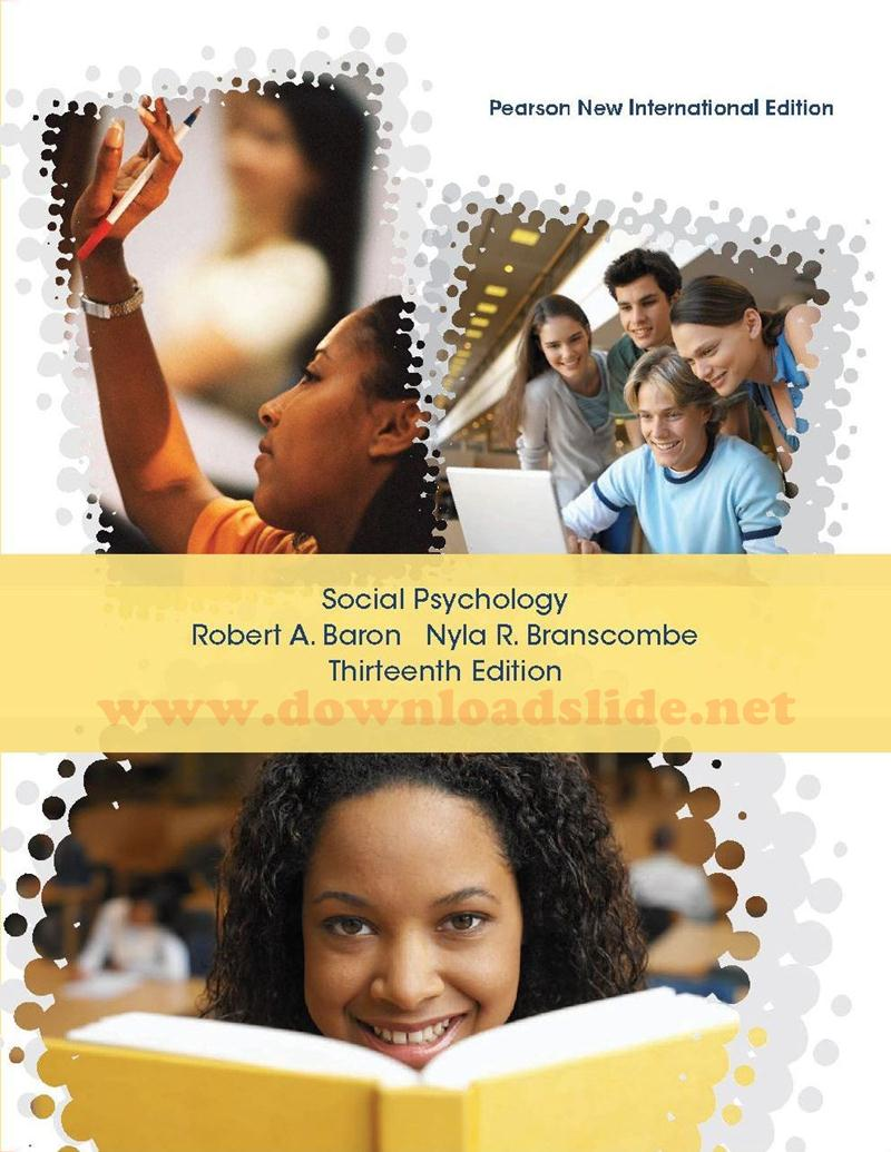 Social Psychology Baron 13th Edition Pdf