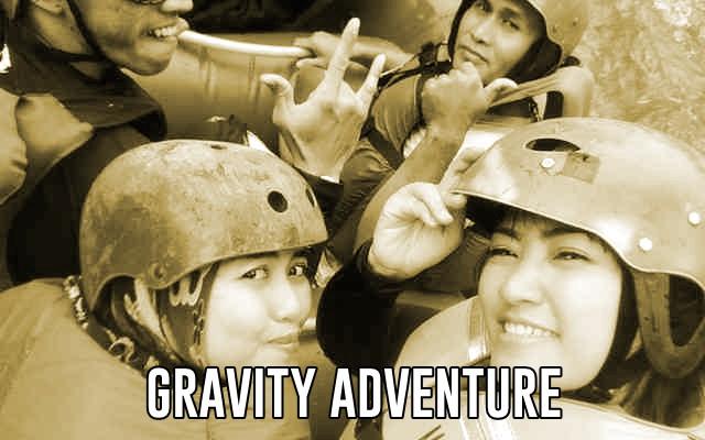 gravity adventure bandung jawa barat