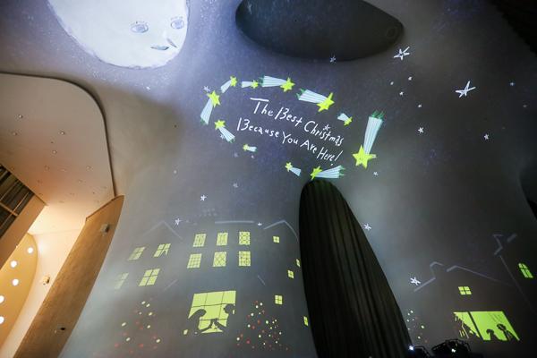 台中國家歌劇院曲牆光影秀「光之曲幕」耶誕特展加極光、星空、海洋