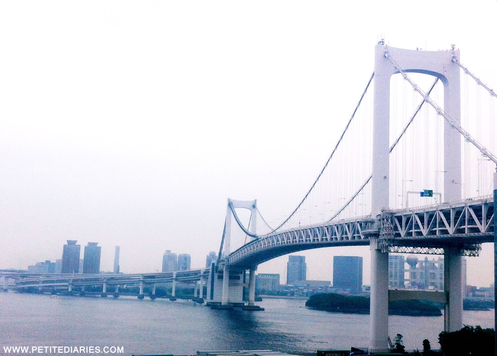 rainbow bridge in odaiba travel japan